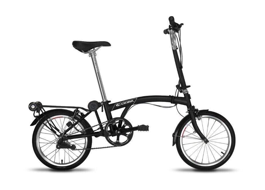 จักรยานพับ CIGNA เฟรมโครโม เกียร์ดุม 3 สปีด ล้อ 16 นิ้ว(โปรดระบุสีตรงหมายเหตุ)