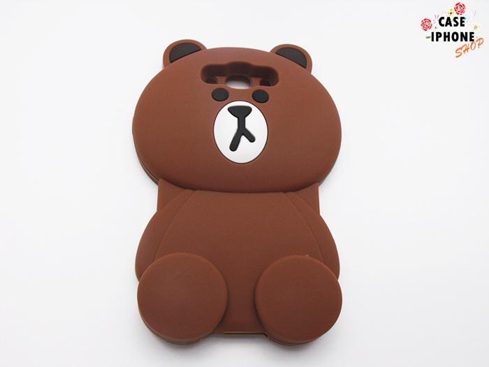 เคสหมีบราวน์ 3D ซัมซุง เจ 7(version 2)