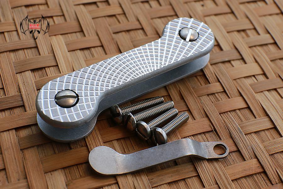 Key Bar Rising Sun Aluminum CNC Milled