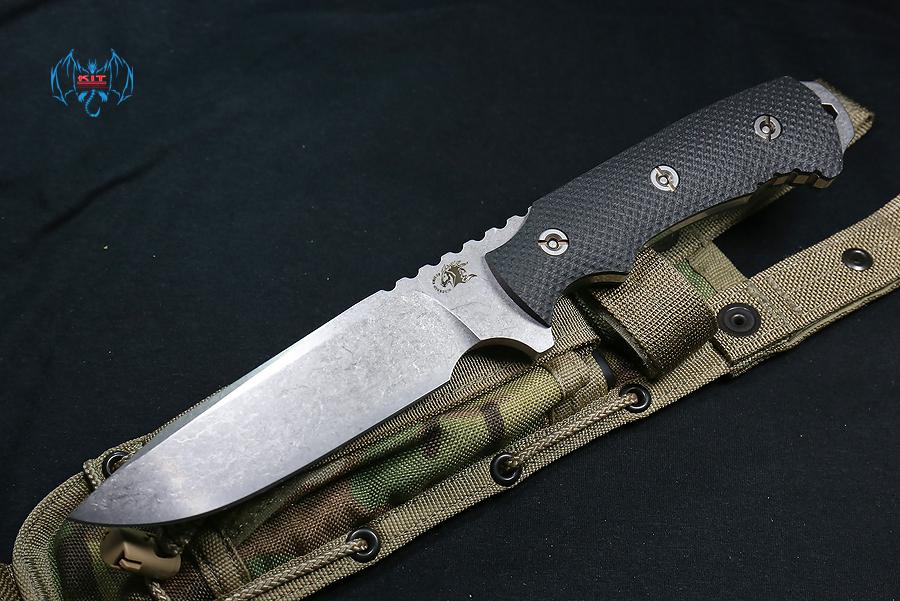"RHK Fieldtac 5.5"" Fixed Blade Black Handle"