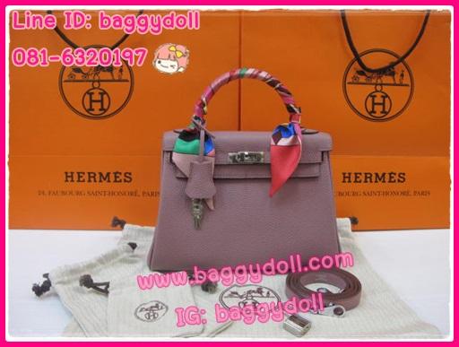 Hermes Kelly25 Togo Leather Silver Hardware **เกรดท๊อปมิลเลอร์** (Hi-End)