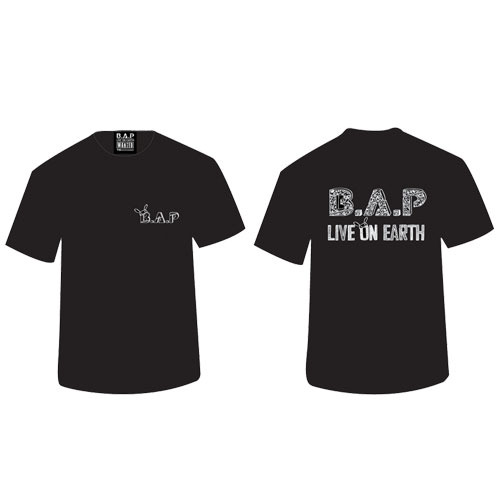 [OFFICIAL GOODS] B.A.P LIVE ON EARTH T-SHIRT