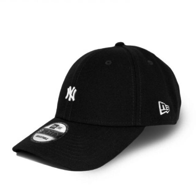 หมวก NEW ERA 9Forty Cap NY Mini logo สีดำ