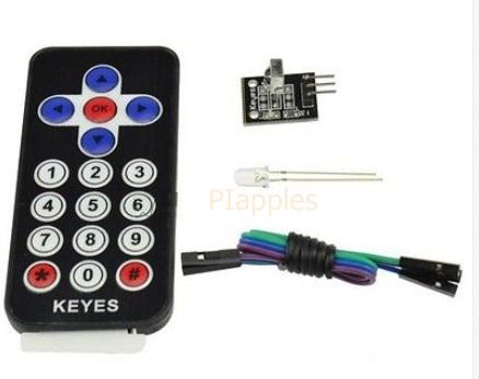 ชุดรีโมทย์ อินฟาเรด Arduino HX1838 VS1838 Arduino Infrared IR Wireless Remote Control Sensor Module Kits