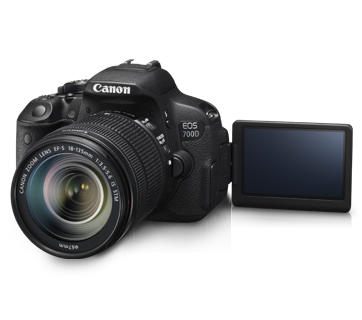 Canon EOS 700D + Lens 18-135 IS STM