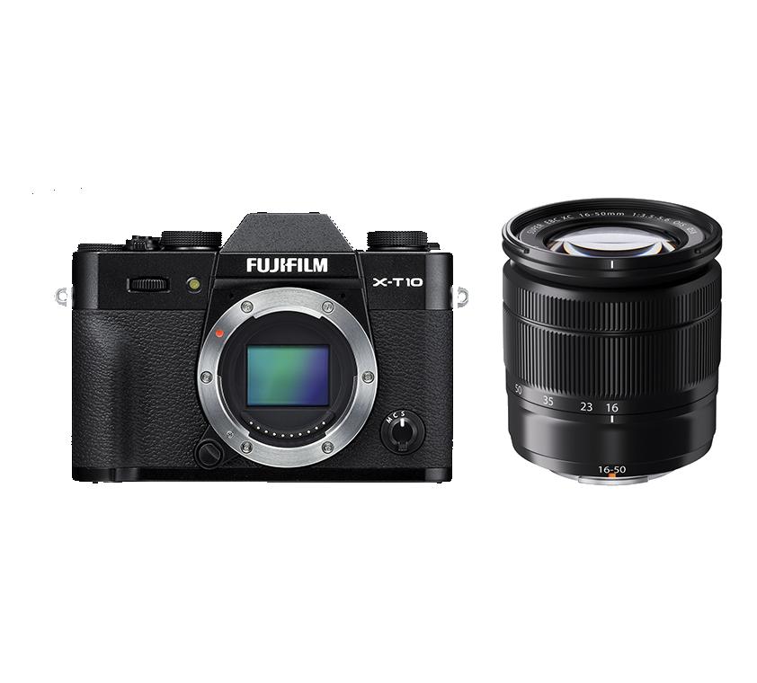 Fujifilm XT10 Lens 16 50 Mm OIS II Black