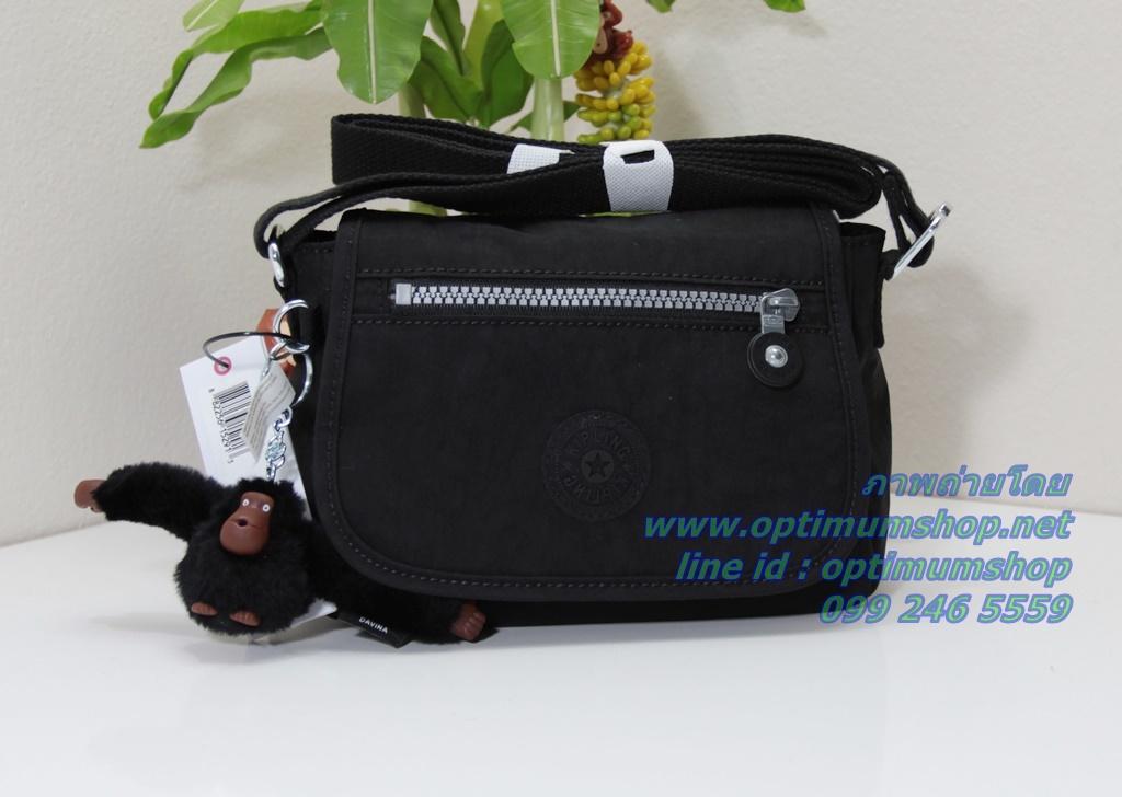 Kipling Sabian Black ใบเล็กน่ารัก ขนาด L 7.5 x H6 x D3.25 นิ้ว