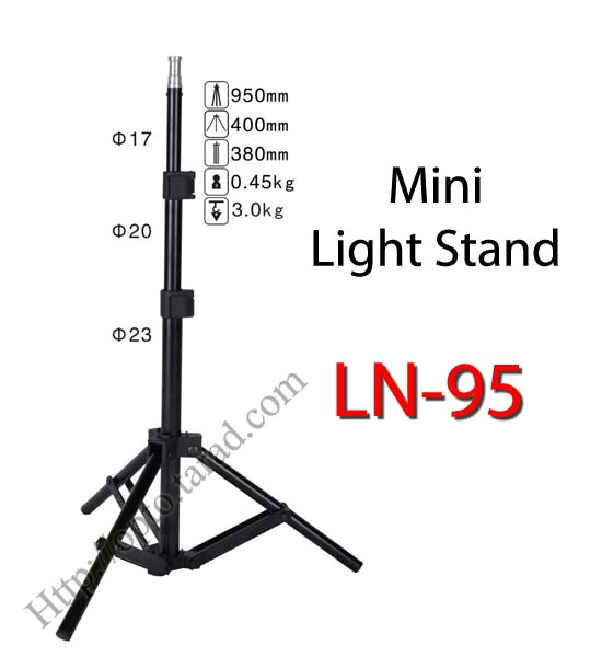 LN-95 Mini Light Stand for Flash Studio (H/95cm.)
