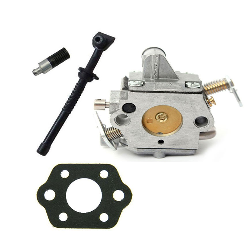 Chainsaw ZAMA Carburetor & Gasket OIL LINE OIL FILTER FOR STIHL MS170 MS180 017 018 Carb Chain saws