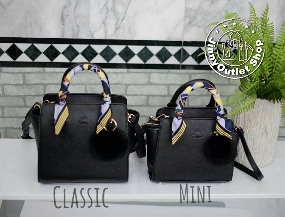 KEEP ( Saffiano Leather Office Bag )
