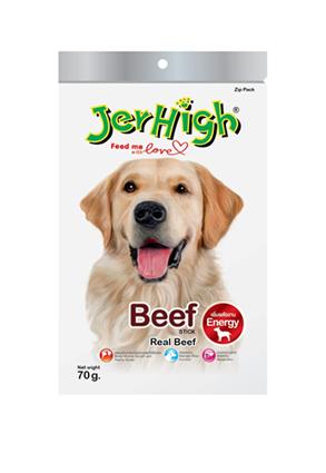 เจอร์ไฮ สติ๊ก เนื้อ (Beef) 1โหล