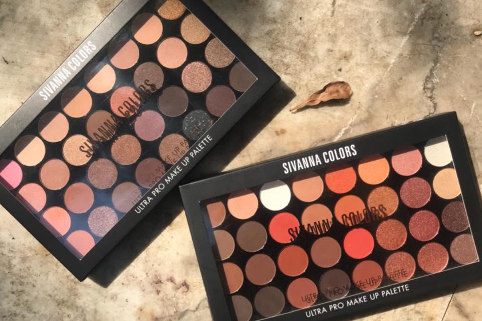 Sivanna Colors Ultra Pro Make Up Palette HF 372 พาเลทอายแชโดว์ ราคา 175 บาท