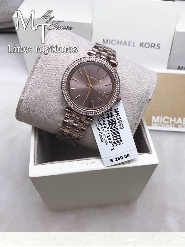 นาฬิกาข้อมือ MICHAEL KORS รุ่น Sable Brown Dial Ladies Watch MK3553