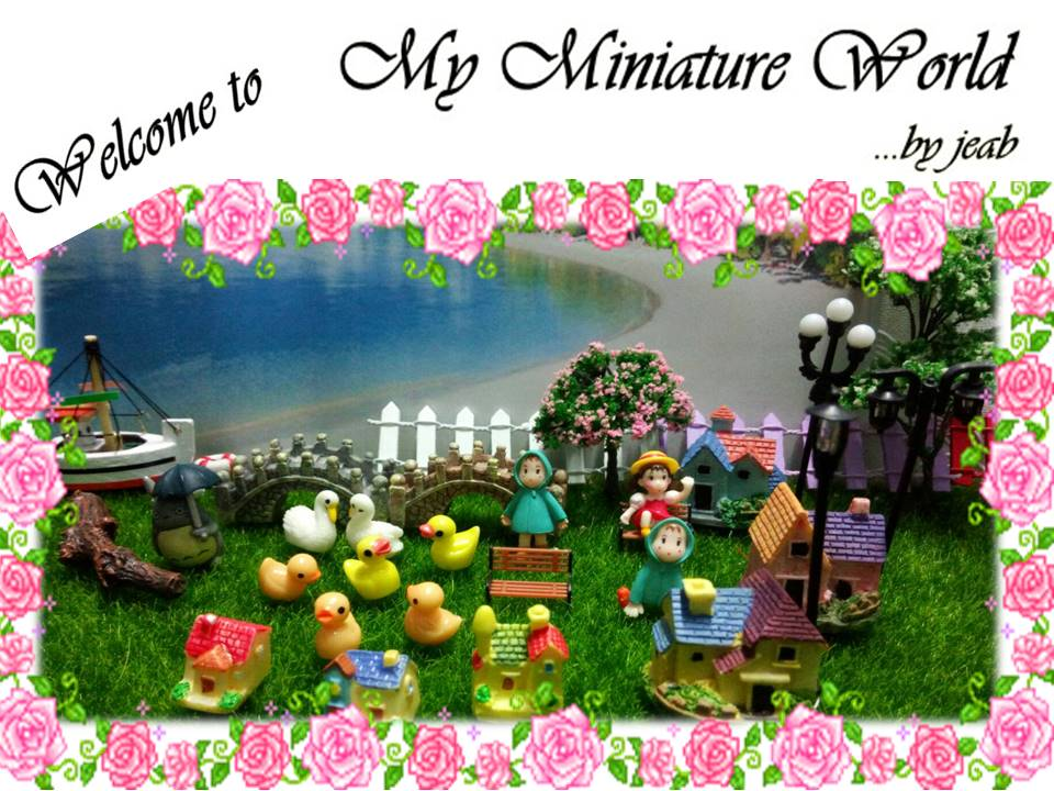 My Miniature World.. by Jeab
