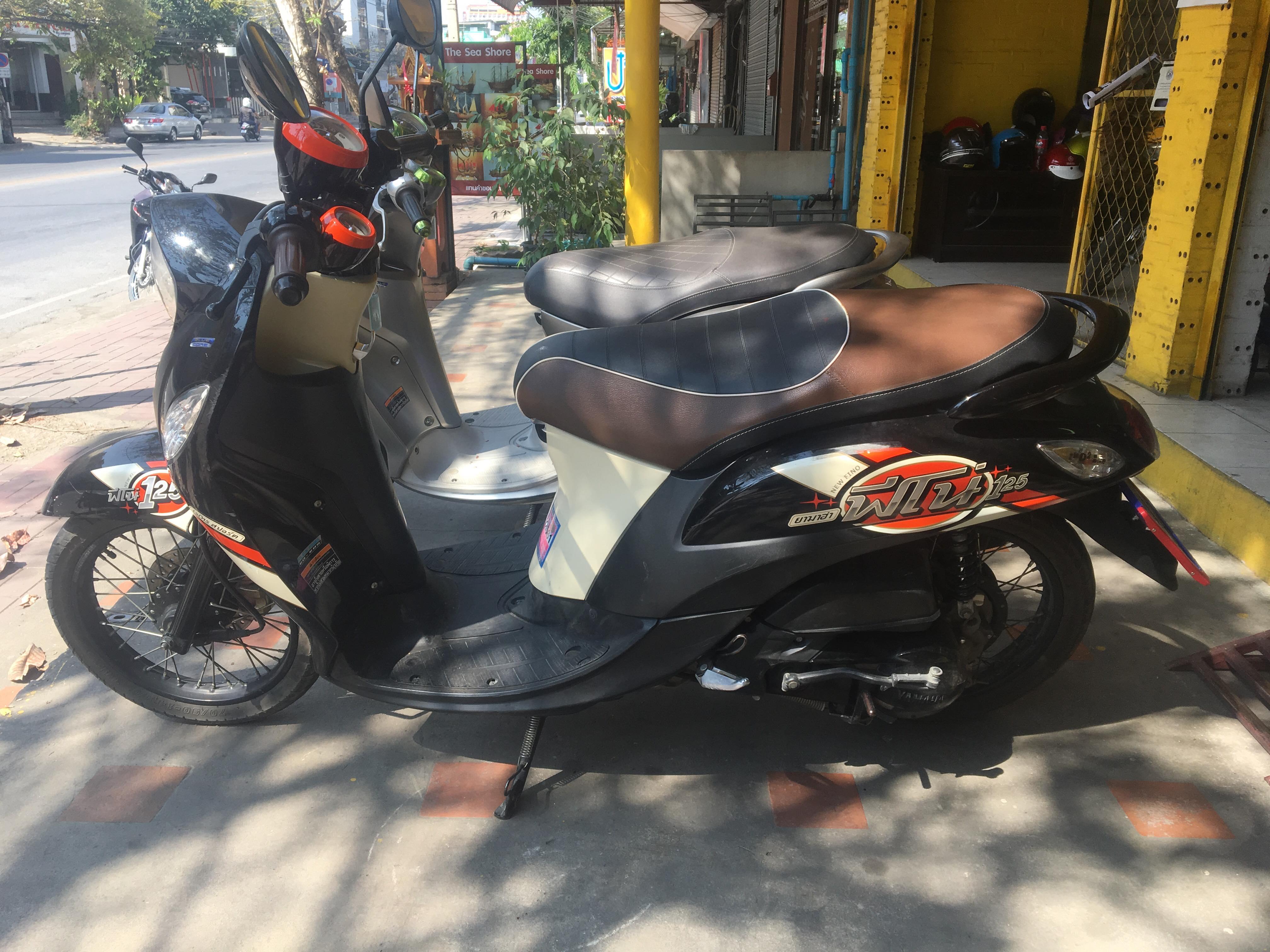 Rental Yamaha Fino 125cc Auto