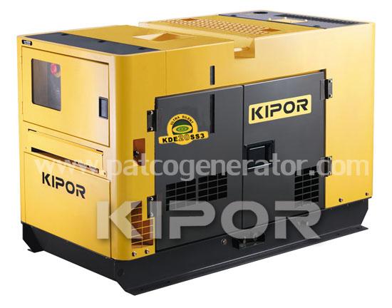 เครื่องกำเนิดไฟฟ้าเครื่องยนต์ดีเซล ขนาด 18.5 KVA KIPOR #KDE20SS3 Diesel Generator 18.5 KVA 380V. super silent