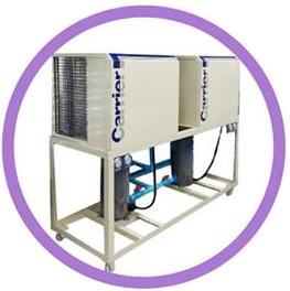 Air Cooled Chiller 8 - 150 Tons Plate Titanium