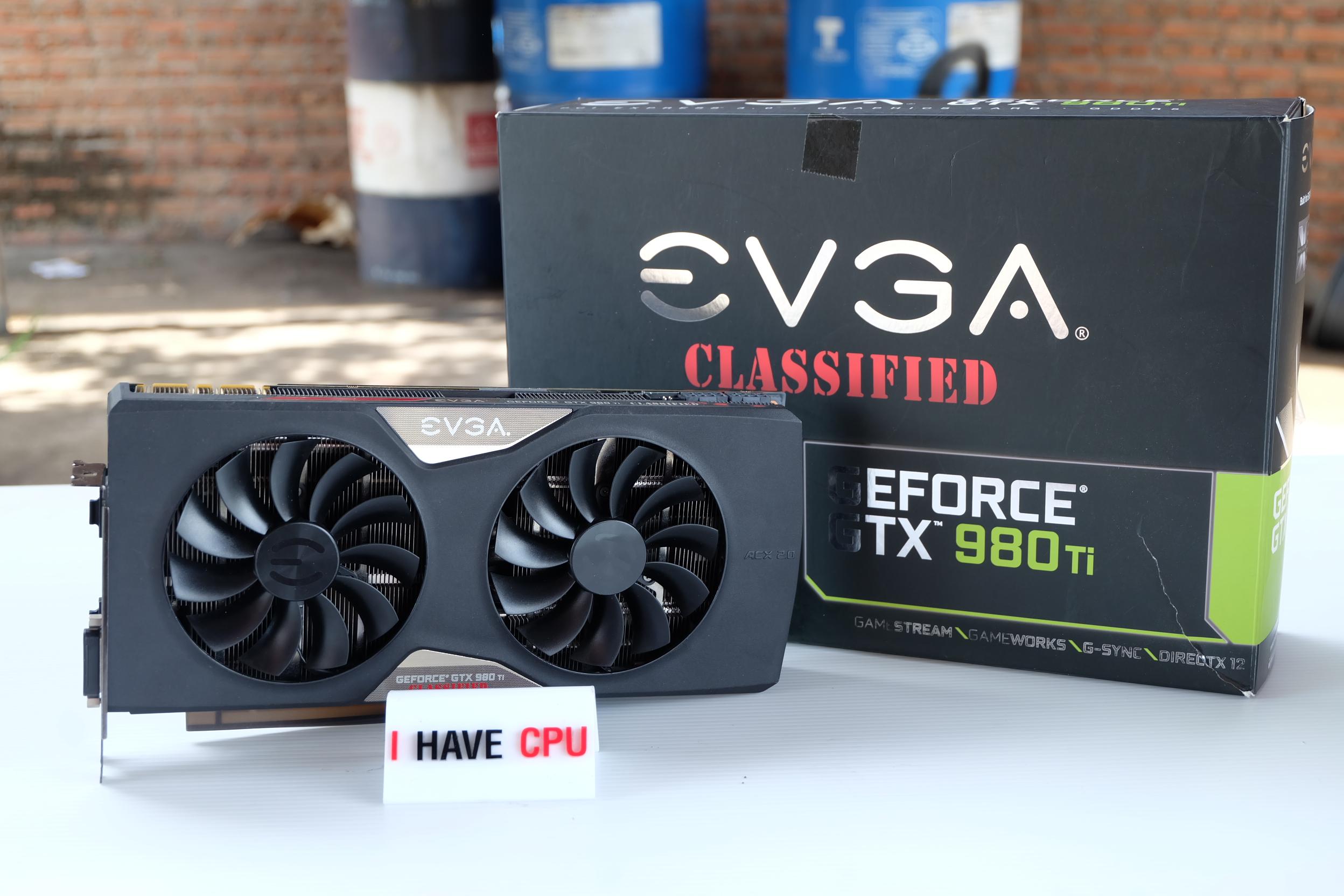EVGA GeForce GTX 980 Ti CLASSIFIED