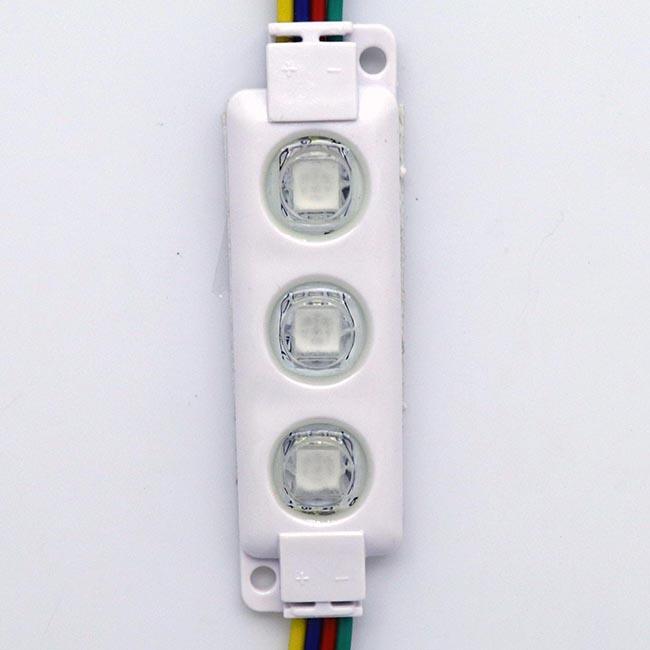 ไฟโมดุลRGB ออกแสง 160องศา สามารถเปลี่ยนลายไฟได้- เหมาะกับ ทำป้าย ทุกชนิด