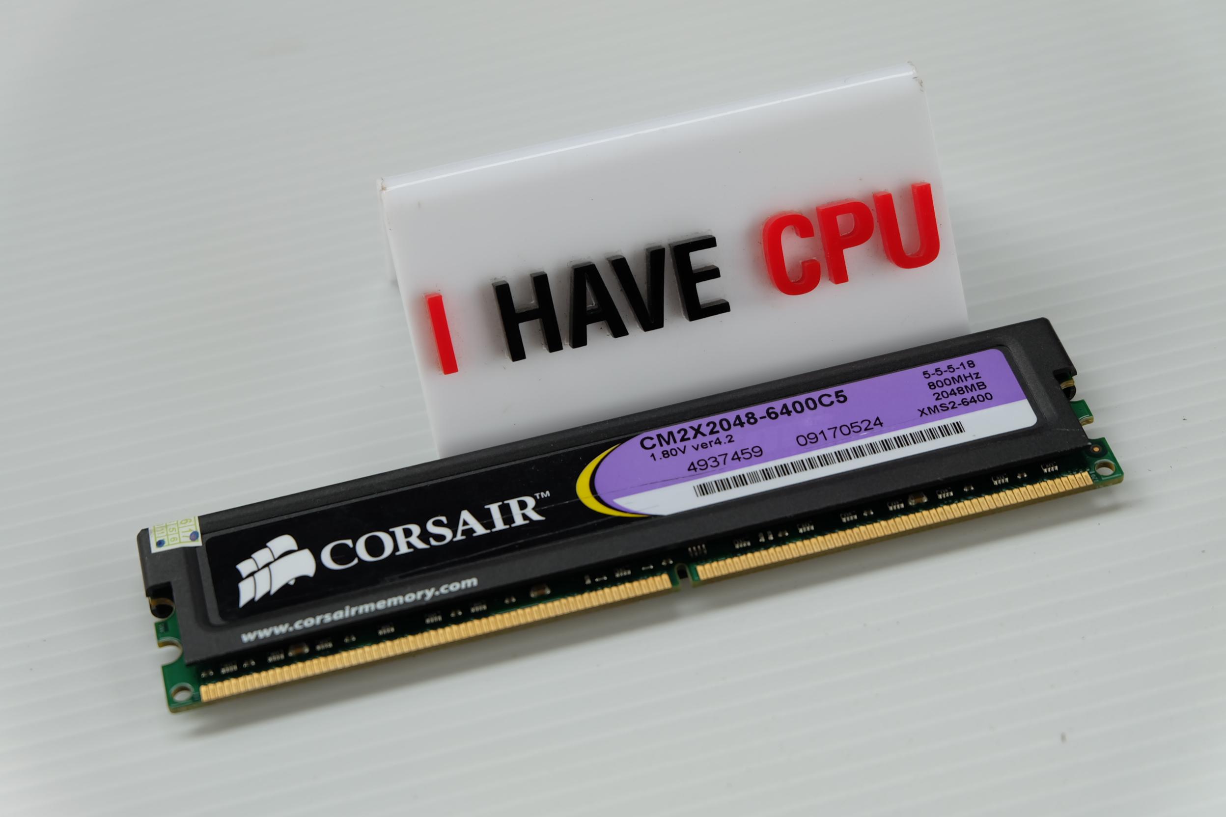 CORSAIR 2GB DDR2 800MHZ XM2S