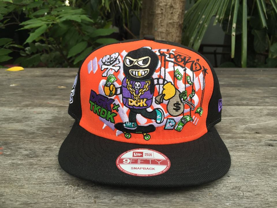 หมวก New Era Tokidoki x DGK snapback