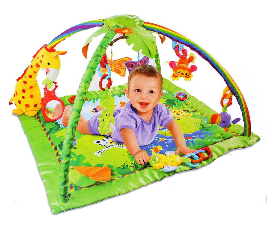 Play Gym Developmental Benefits Baby's Friends