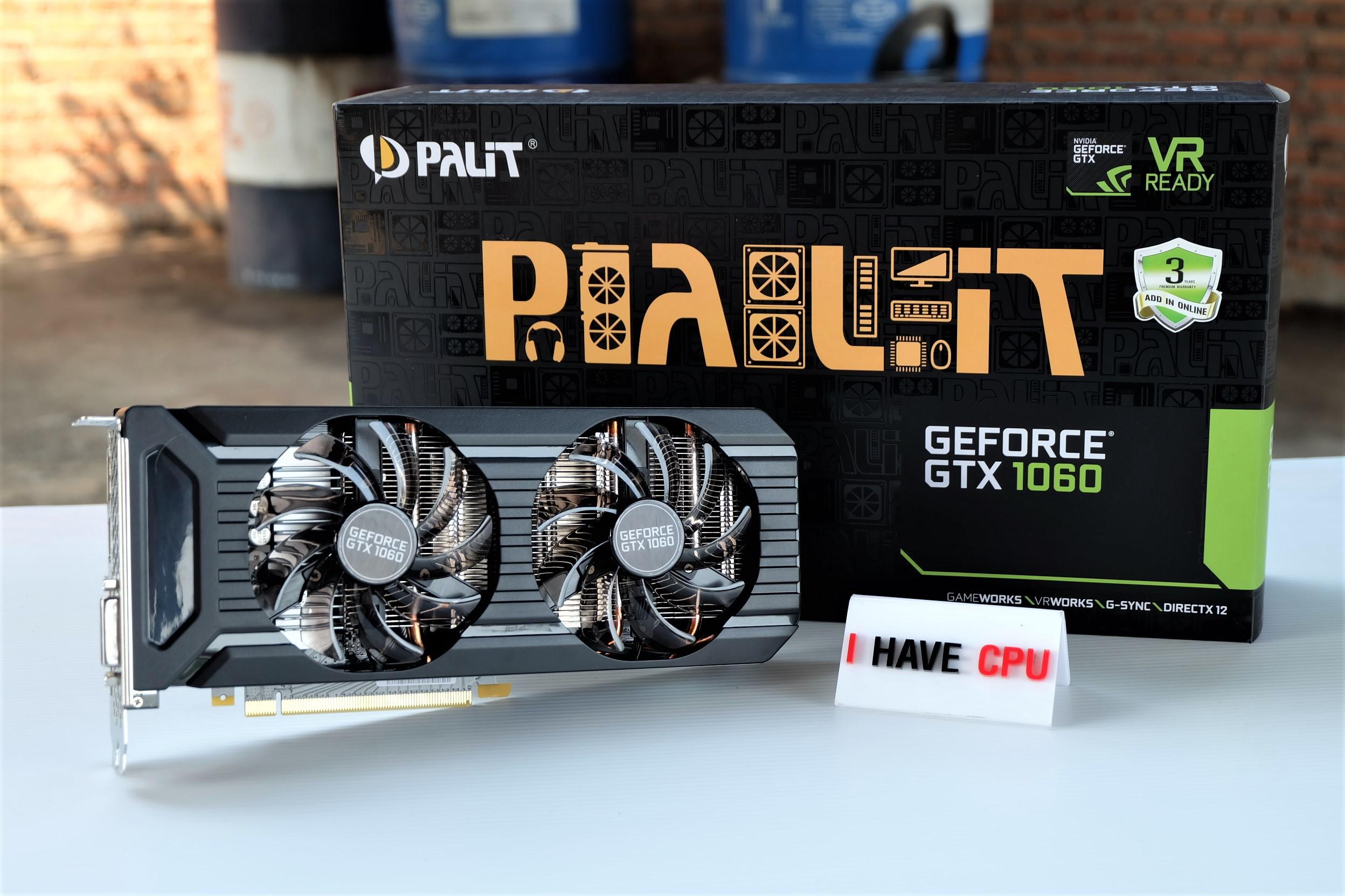 PALIT GeForce GTX 1060 Dual 6GB GDDR5 ของใหม่
