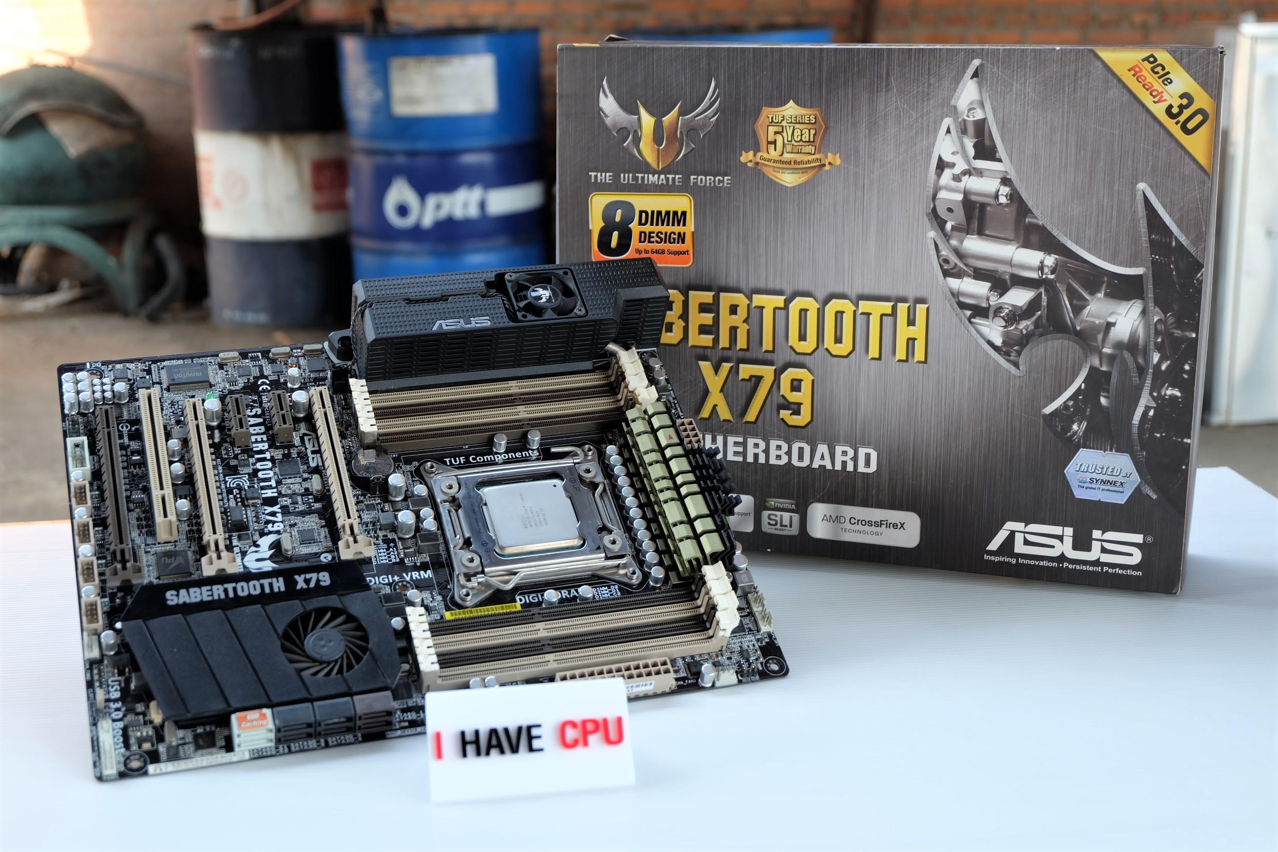 i7-4820K up to 3.9Ghz + ASUS Sabertooth X79
