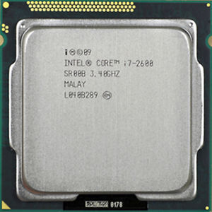 1155 i7-2600 up to 3.8Ghz