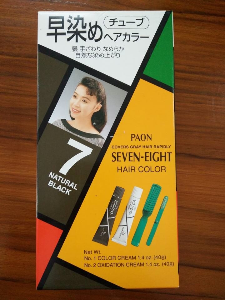 Paon Seven Eight Hair Color 7
