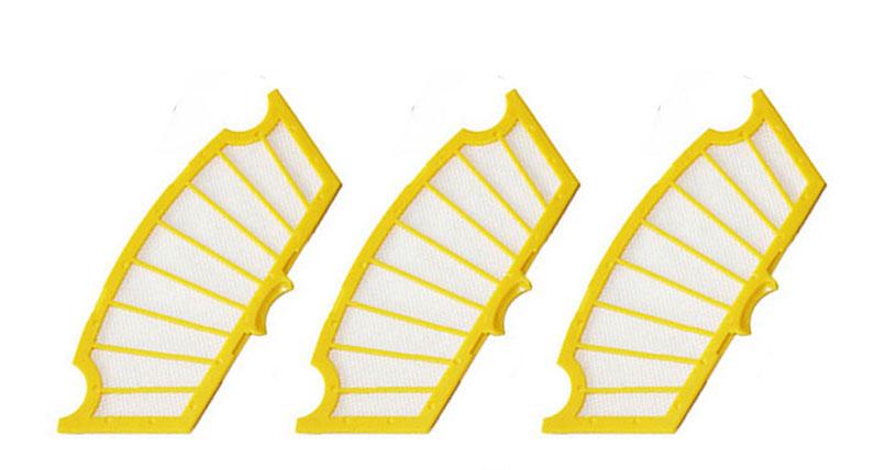 แผ่นกรองฝุ่น standard filter สำหรับ irobot roomba 500 series, 531,555 3 ชิ้น