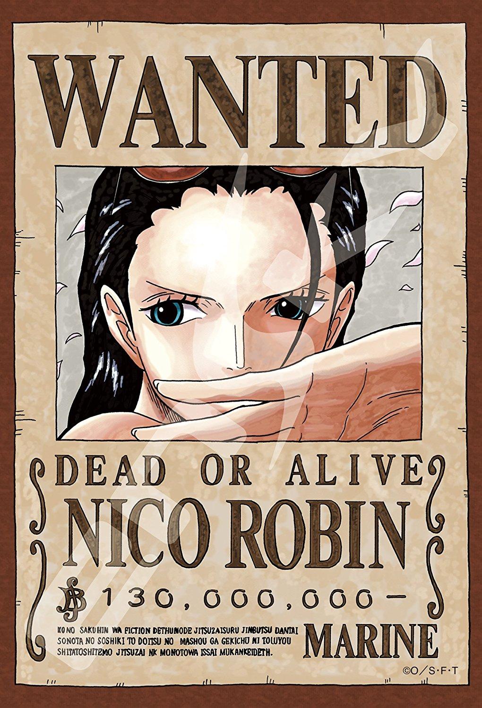 Robin Wanted - Jigsaw One Piece ของแท้ JP แมวทอง (จิ๊กซอว์วันพีช)