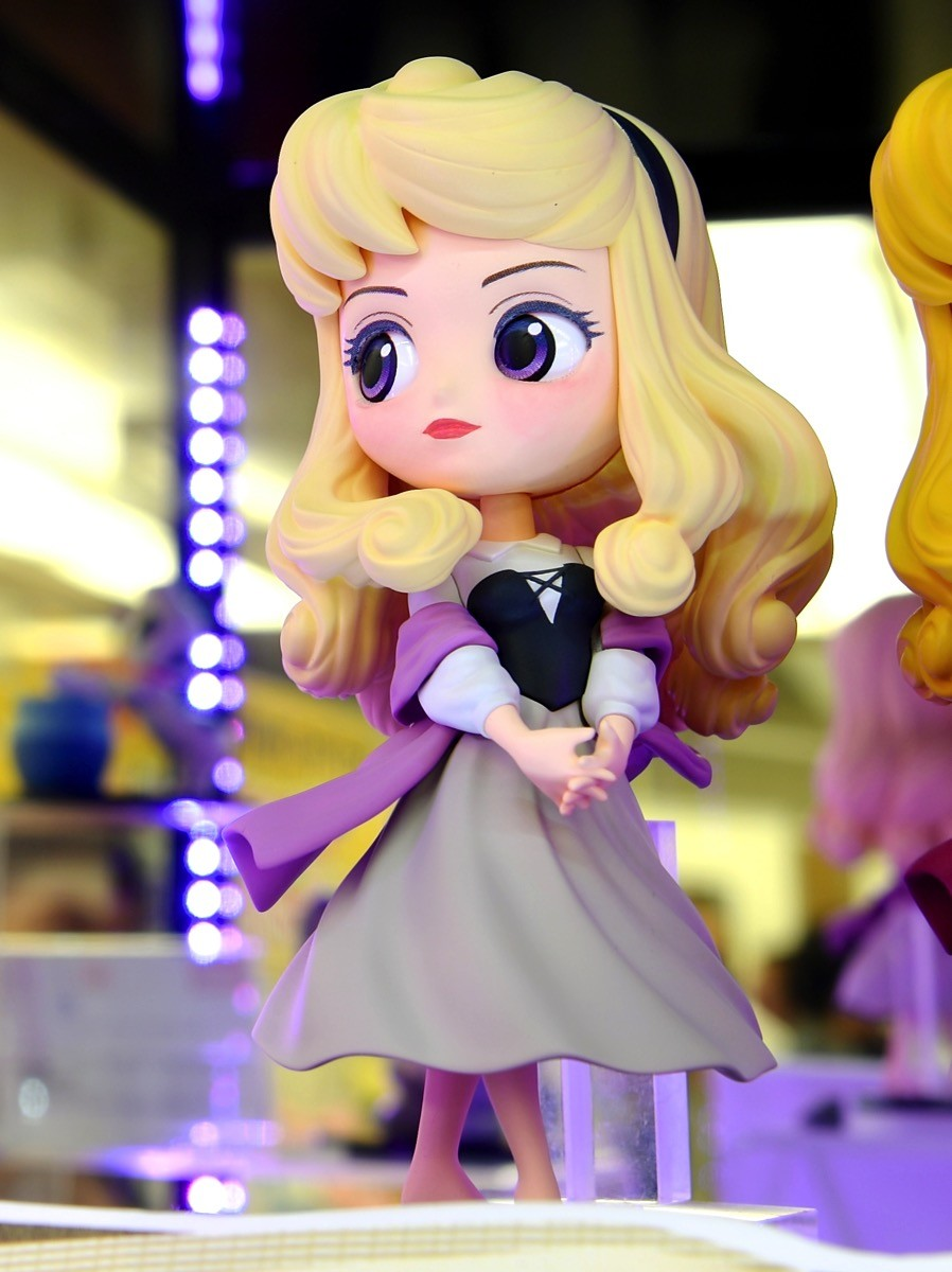 Aurora ของแท้ JP - Q Posket Disney - Pastel Color [โมเดล Disney]