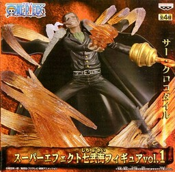 Crocodile ของแท้ JP แมวทอง - Super Effect Banpresto [โมเดลวันพีช]