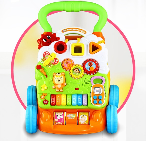 รถผลักเดินล้อยางหนืด Dibao bear piano walker youleen สวยมาก ๆ ค่ะ ส่งฟรี