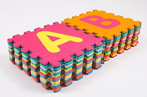แผ่นรองคลานตัวเลข A-Z ส่งฟรี
