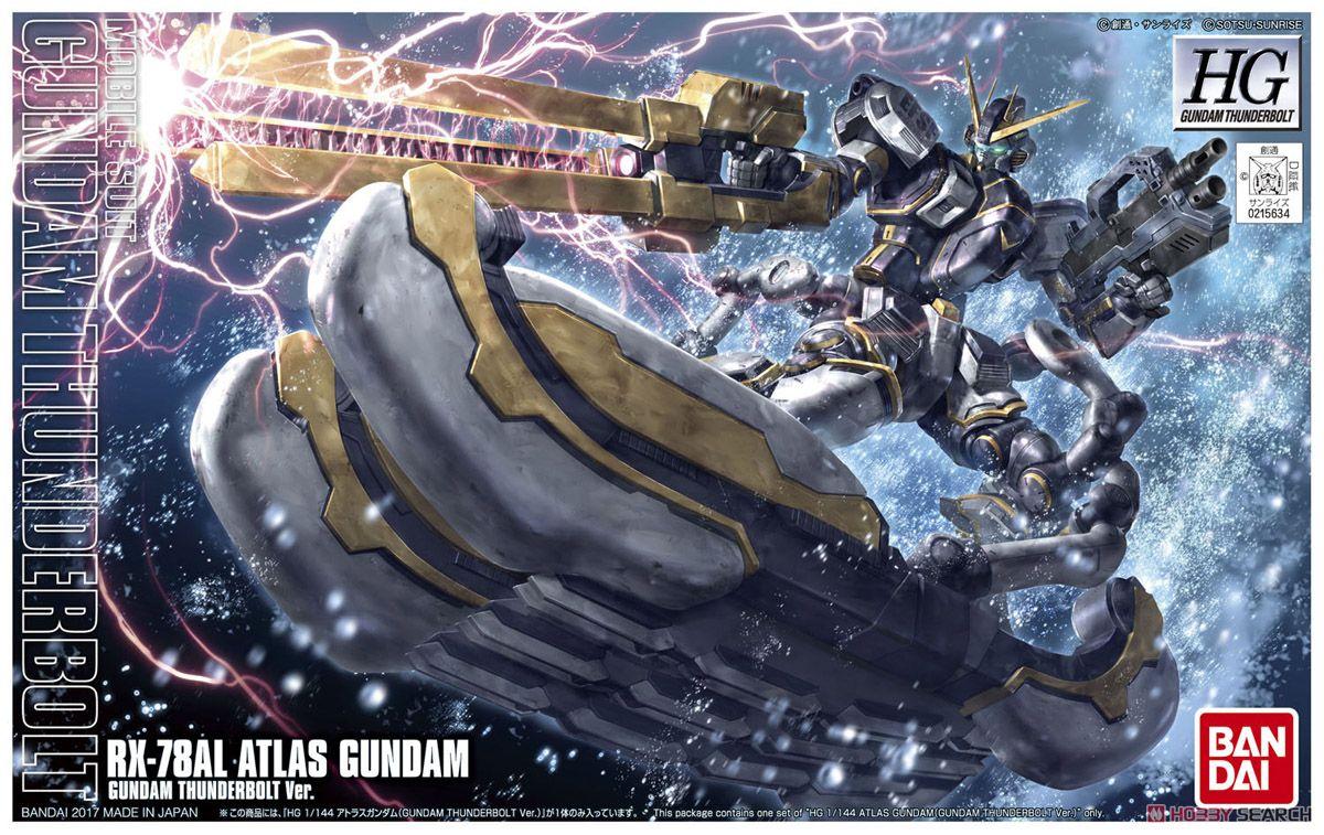 Bandai HGGT RX 78AL Atlas Gundam [Gundam Thunderbolt Ver.]