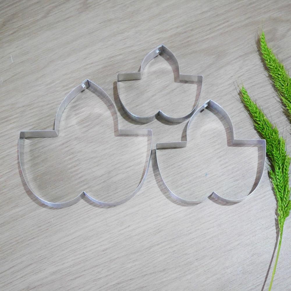 พิมพ์ตัด ใบมอร์นิ่งกลอรี่ใหญ่ (Morning Glory leaf L cutter)