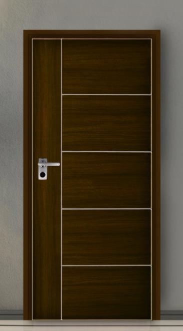ประตู Leo iDoor Series4 iDoor-46-Walnut(ภายใน) 3.4*80*200 เมตร