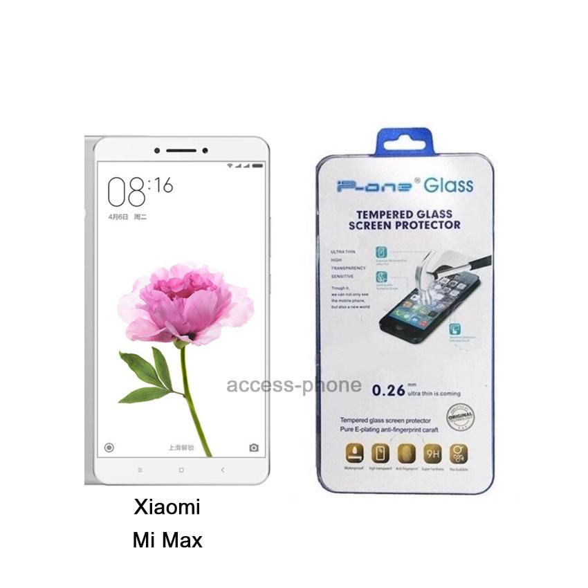 P-one ฟิล์มกระจก Xiaomi Mi Max