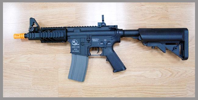 ปืนอัดลม ระบบไฟฟ้า M4 Compact Seal (รหัส AR13M) งานCA ฮ่องกง