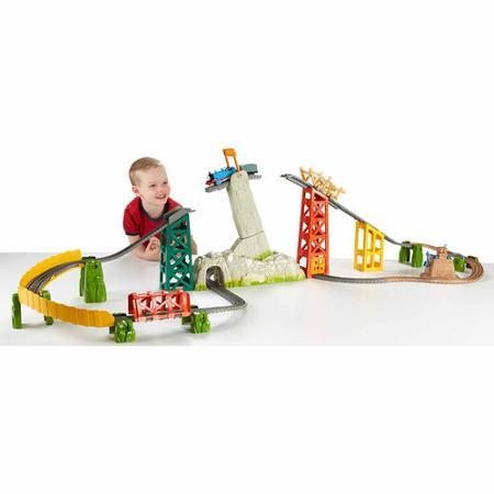 เซตรถไฟโทมัส Fisher-Price Thomas & Friends Trackmaster Avalanche Escape Set พร้อมรางและสถานีแบบเต็มรูปแบบ