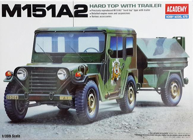 รถ M151-A2 Hard Top With Trailer 1/35 Academy (AC13012 )