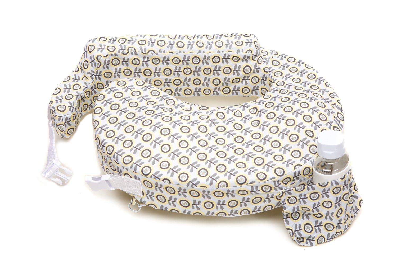 หมอนรองให้นม My Brest Friend Nursing Pillow รุ่น Original ลาย Sunshine Poppy, Grey, Yellow