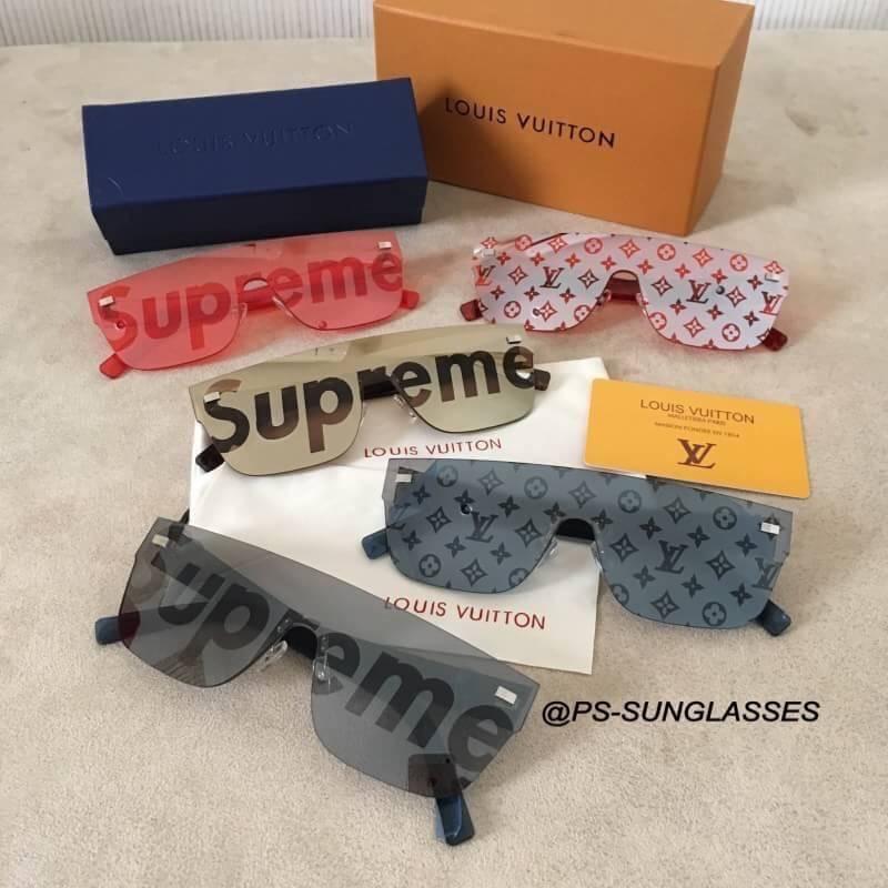 20198d21c9038 Louis Vuitton LOUIS VUITTON Z 0986 U Supreme City Mask SPsunglasses Black  Plat stick LV Source · Louis Vuittonsupreme City Mask Sp Sunglasses  Sunglasses ...