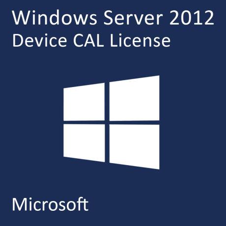 MICROSOFT WINDOWS SERVER CAL: WINDOWS SERVER CAL 2012 SNGL OLP NL DEVICE CAL