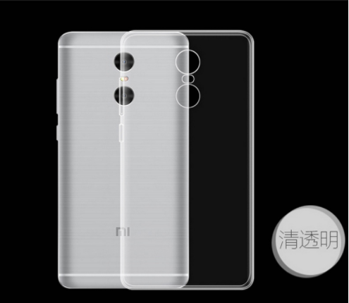 Transparent Soft Ultra-thin case For Xiaomi Redmi Note 4X silicone Protective back cover