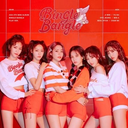 AOA - Mini Album Vol.5 [BINGLE BANGLE] (PLAY Ver.) + โปสเตอร์ พร้อมกระบอกโปสเตอร์
