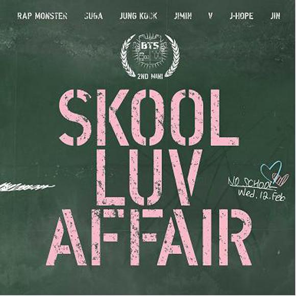 BTS - Mini Album Vol. 2 [Skool Luv Affair] [+Booklet(115pages) +Photocard (1p)]