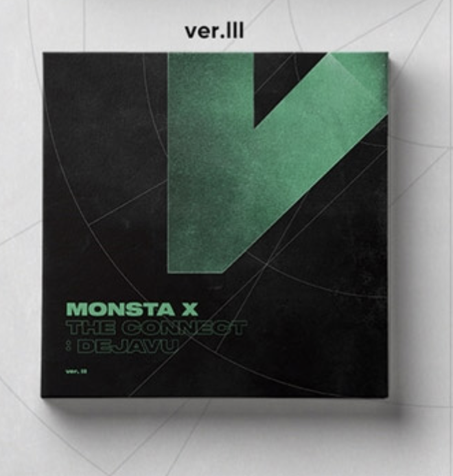 MONSTA X - [THE CONNECT : DEJAVU] หน้าปก Ⅲ Ver.